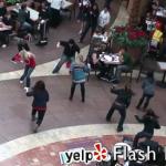 yelp-flash-mob