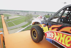 Hot Wheels Truck Jump
