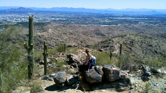 South Mountain Peaks Trail