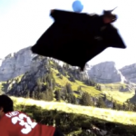 Wing Suit 720p HD Video Danger Close